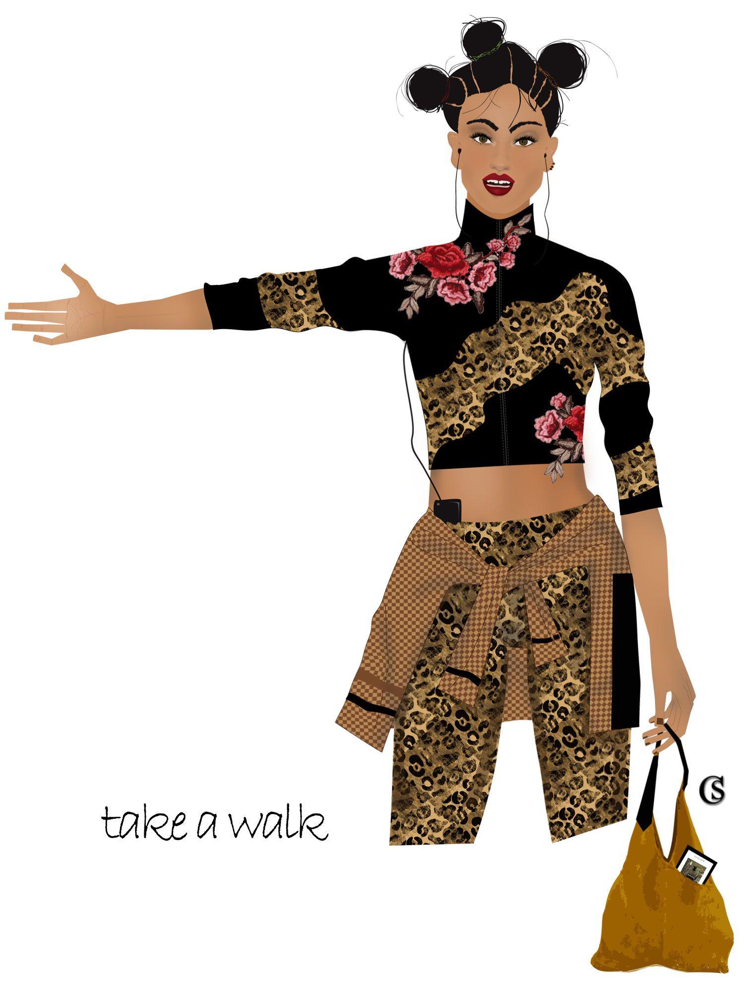 Dance Trends 2020.Active Trend Mix It Up Sport Walker Activewear Concept