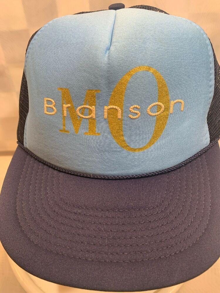 BRANSON Missouri Trucker Mesh Snapback Adult Cap Hat #Nissin #TruckerHat