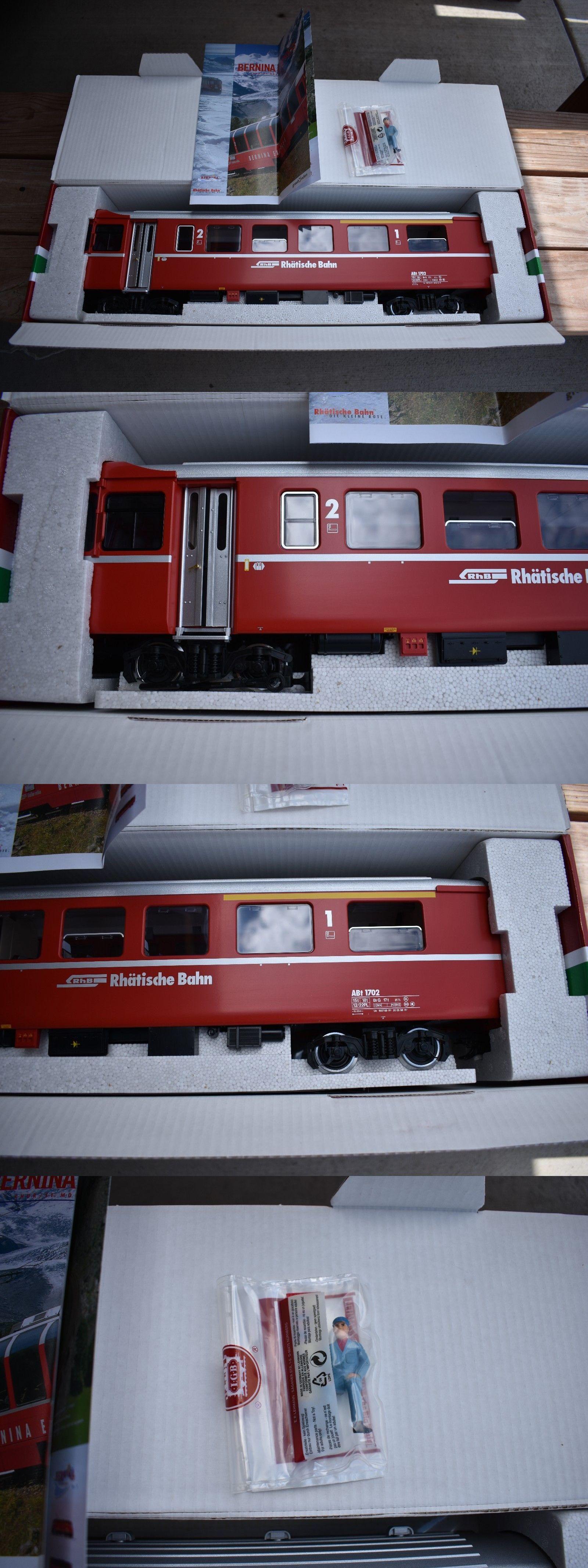 Passenger Cars Lgb G Scale Rhb Rhatische Bahn Control