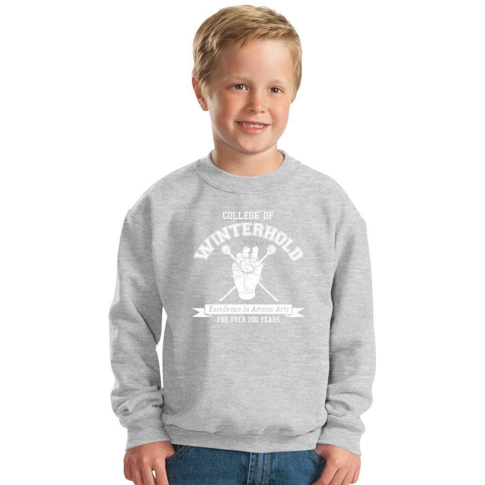 Skyrim - College Of Winterhold Kids Sweatshirt