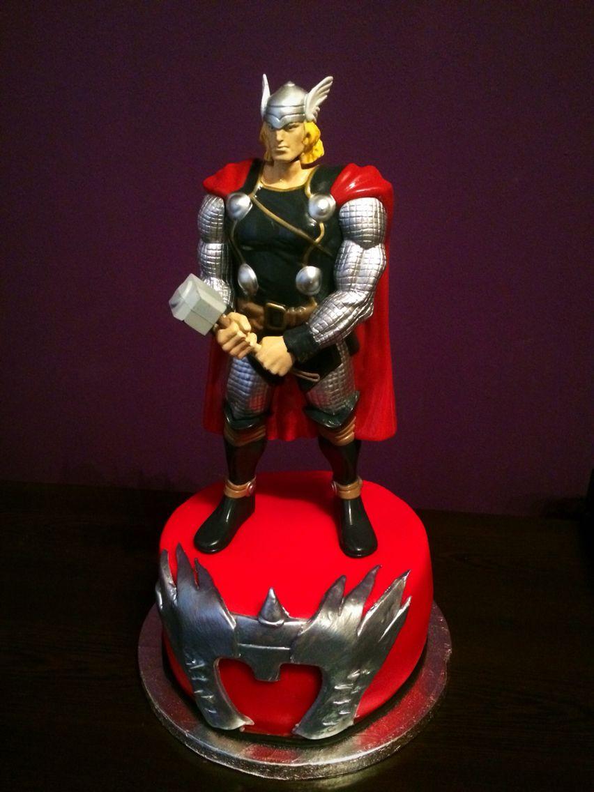 Thor Cake Birthday Party Ideas Birthday Cake