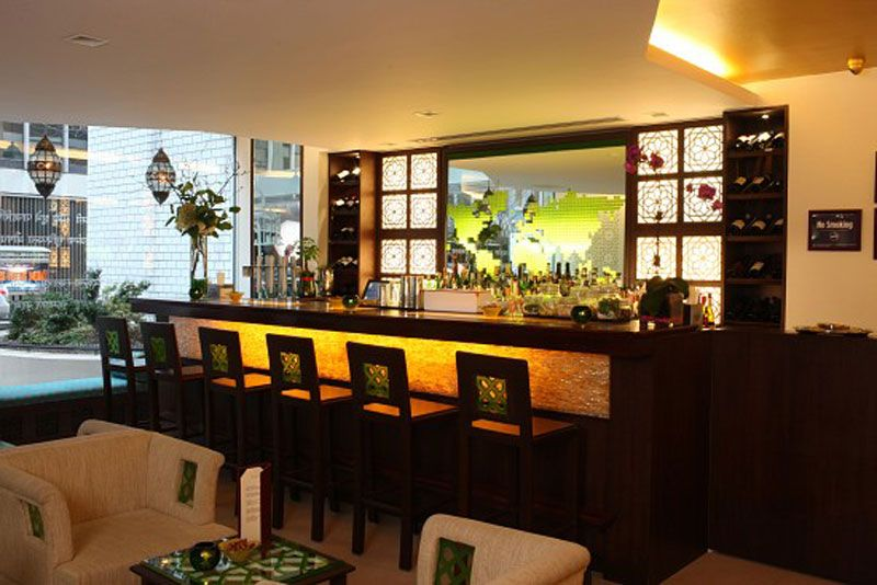 India Interior Design Ideas | Indian Upscale Restaurant Interior Design  Tulsi Mini Bar « Design .