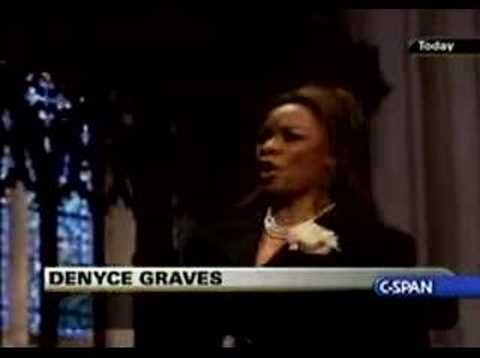 Denyce Graves Lord S Prayer At Gerald Ford Funeral Youtube