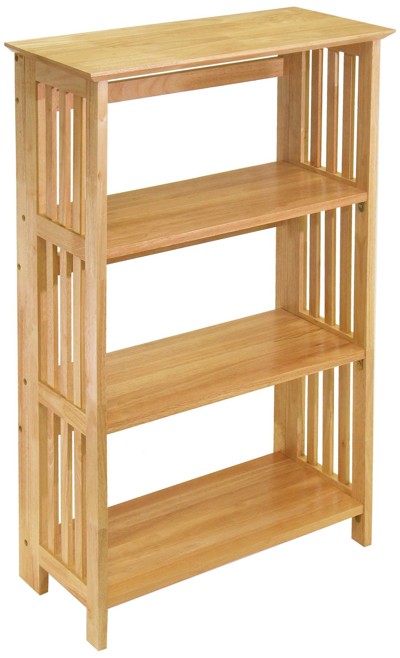 Winsome Wood Foldable 4tier Shelf Natural You Can Find Out More Details At The