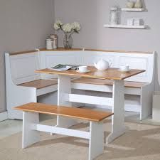 Birtie 3 Piece Solid Wood Breakfast Nook Dining Set #küchetisch