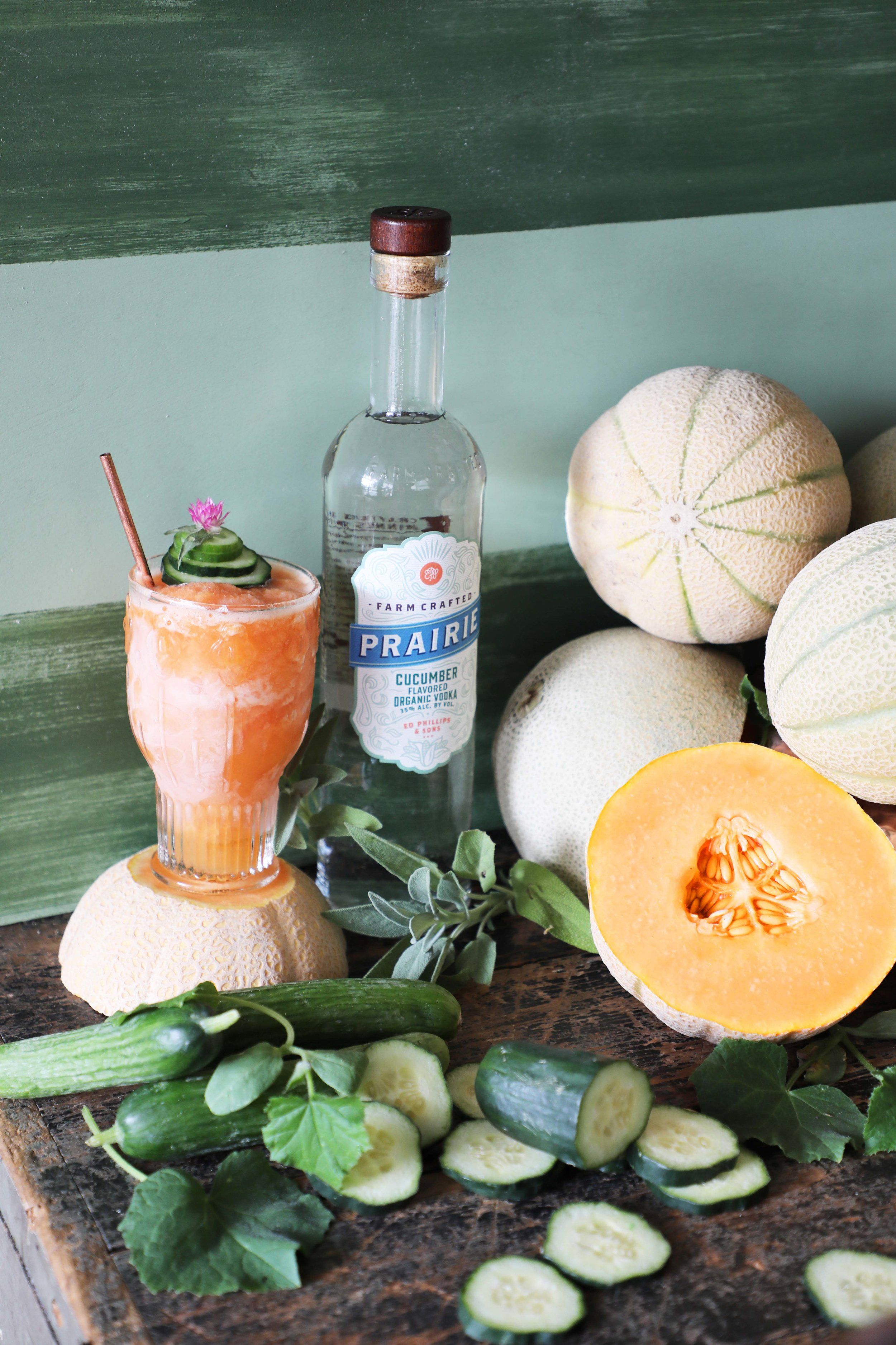 Salted Cantaloupe Cucumber Summer Slush Drinkingwithchickens Com This Refreshing Summer Slushie Is Made With Cucumber Cocktail Organic Vodka Cucumber Vodka Pour in lime juice and vodka and fill shaker with ice. pinterest