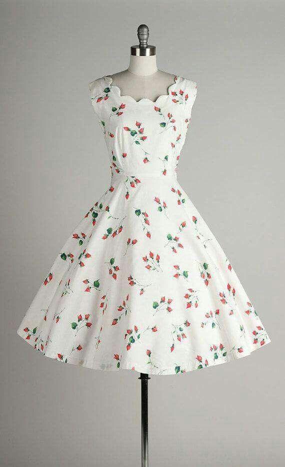 Vintage dresses 1950s style homes