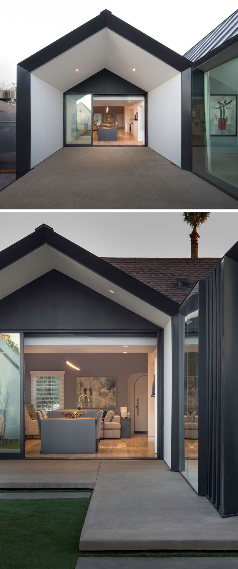 A contemporary update and extension for a 1930s home in ...