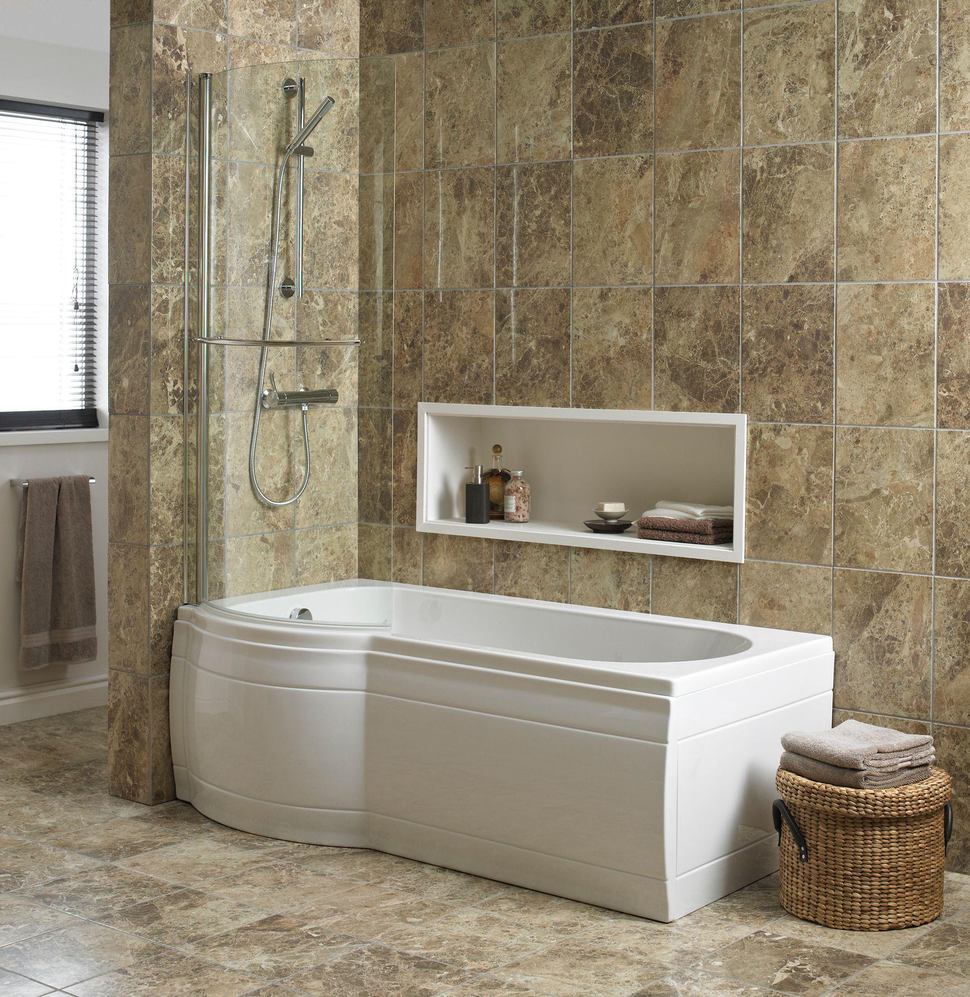 Diy And Crafts Bath Screens And Bath On Pinterest Awesome B And Q Bathroom Design Design Decoration