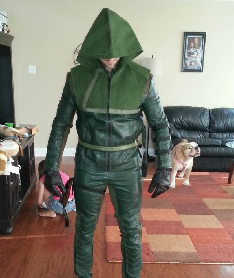 Green Arrow Oliver Queen Cosplay Costume Halloween Clothing Green Arrow Arrow Costume Diy Green Arrow Costume