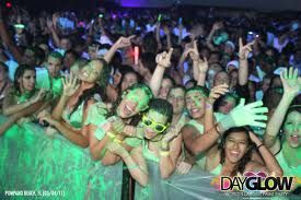 So so so excited to be a part of this....:)  Dayglow , the worlds largest paint party!
