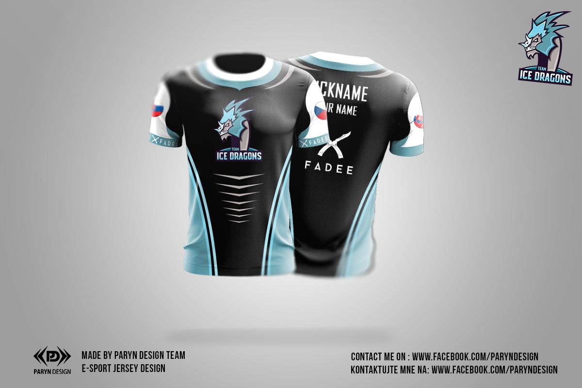 czech esport Jersey design by paryn design | esport jersey