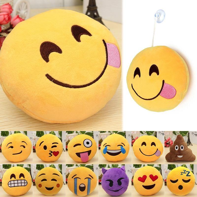 Cuscini Emoticon.6 Pollice Smiley Face Emoji Morbidi Cuscini Peluche Emoticon