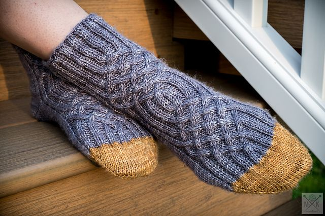 Not Your Average Toe Pattern By Mindy Abodeely Magic Loop Socks