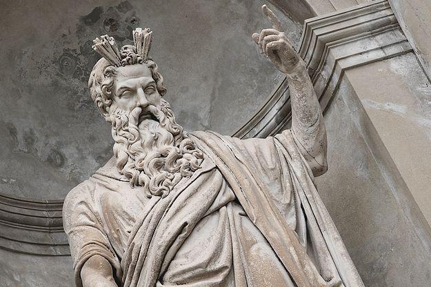 Greek Gods Photo Print Statue of Zeus Gods of Olympus Ancient Greece