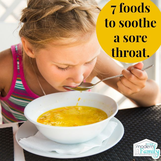 7 Foods To Soothe A Sore Throat Sore Throat Runny Nose