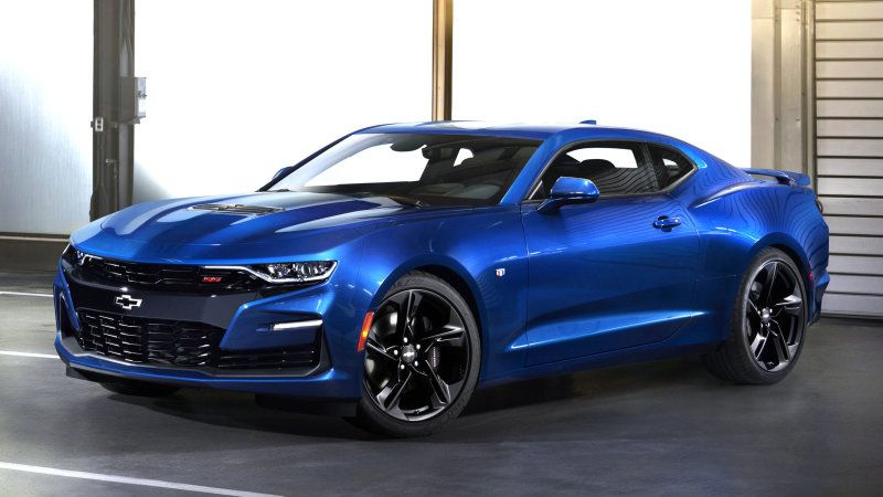 Chevrolet Camaro Gets A Heavily Revised Look For 2019 Chevrolet Camaro Camaro 2019 Camaro