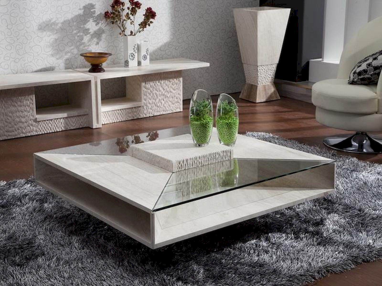 Simple Chic Coffee Table Decoration Ideas Home Design Coffee Table Decorating Coffee Tables Glass Coffee Table Decor [ 1200 x 1600 Pixel ]