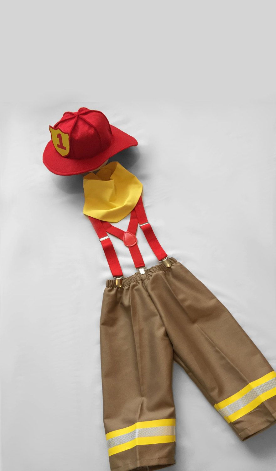 Baby Fireman 1st Baby Boy Smash Outfit 1st birthday