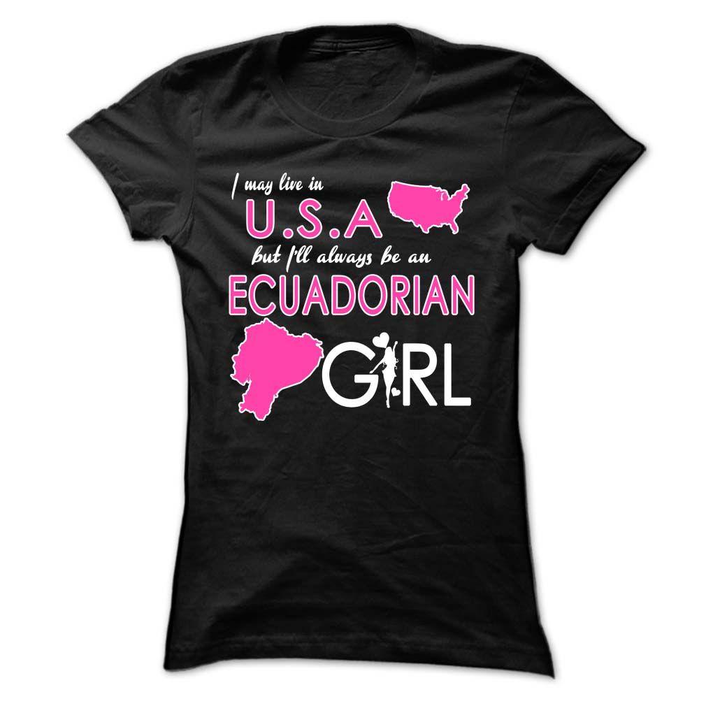 USAEcuadorian Girls tshirts, Mom hoodies, Custom tee shirts