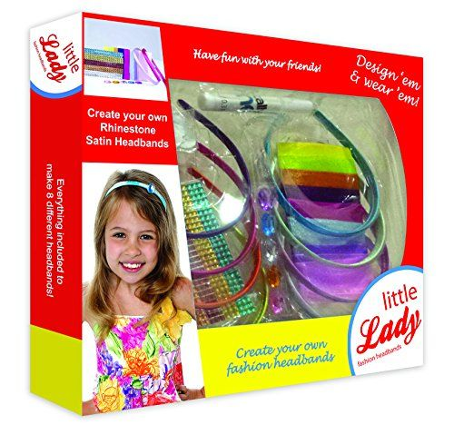 Kids' Jewelry Making Kits - Creativity for Kids little girls Fashion Headbands This headband Kit Is Great For Kids Creativity Fun Girls Hair Accessory Set Make Fashionable Hair Accessories *** Read more at the image link.