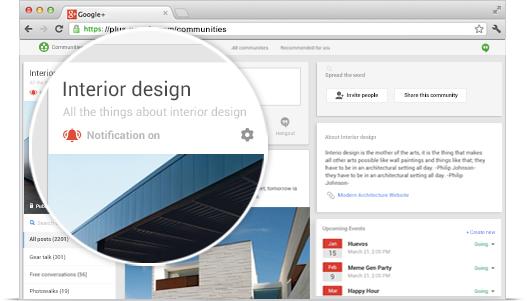 Set Up Your Google Plus Community.