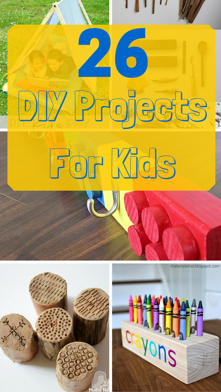 26 Kid Friendly And Fun DIY Projects That Parents Children Can Tackle Together