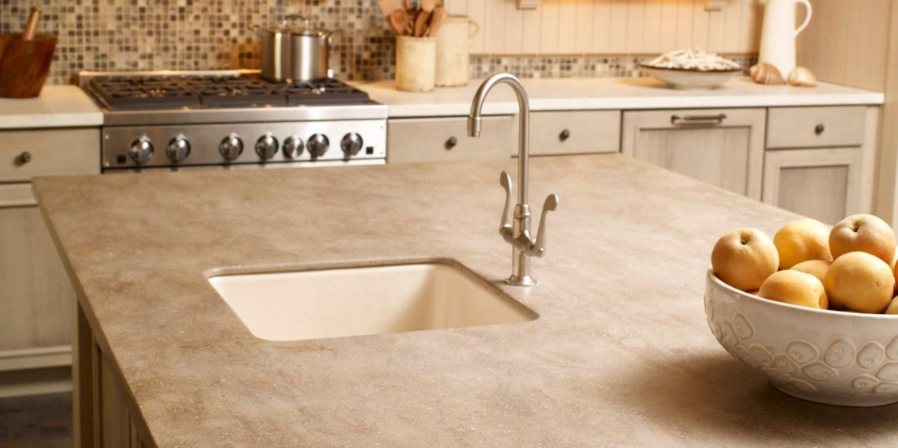 how to join solid surface countertops