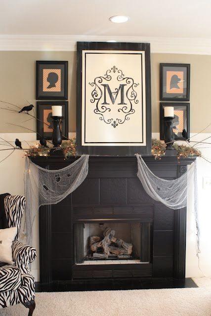 Halloween decorations IDEAS  INSPIRATIONS Halloween Mantels Home