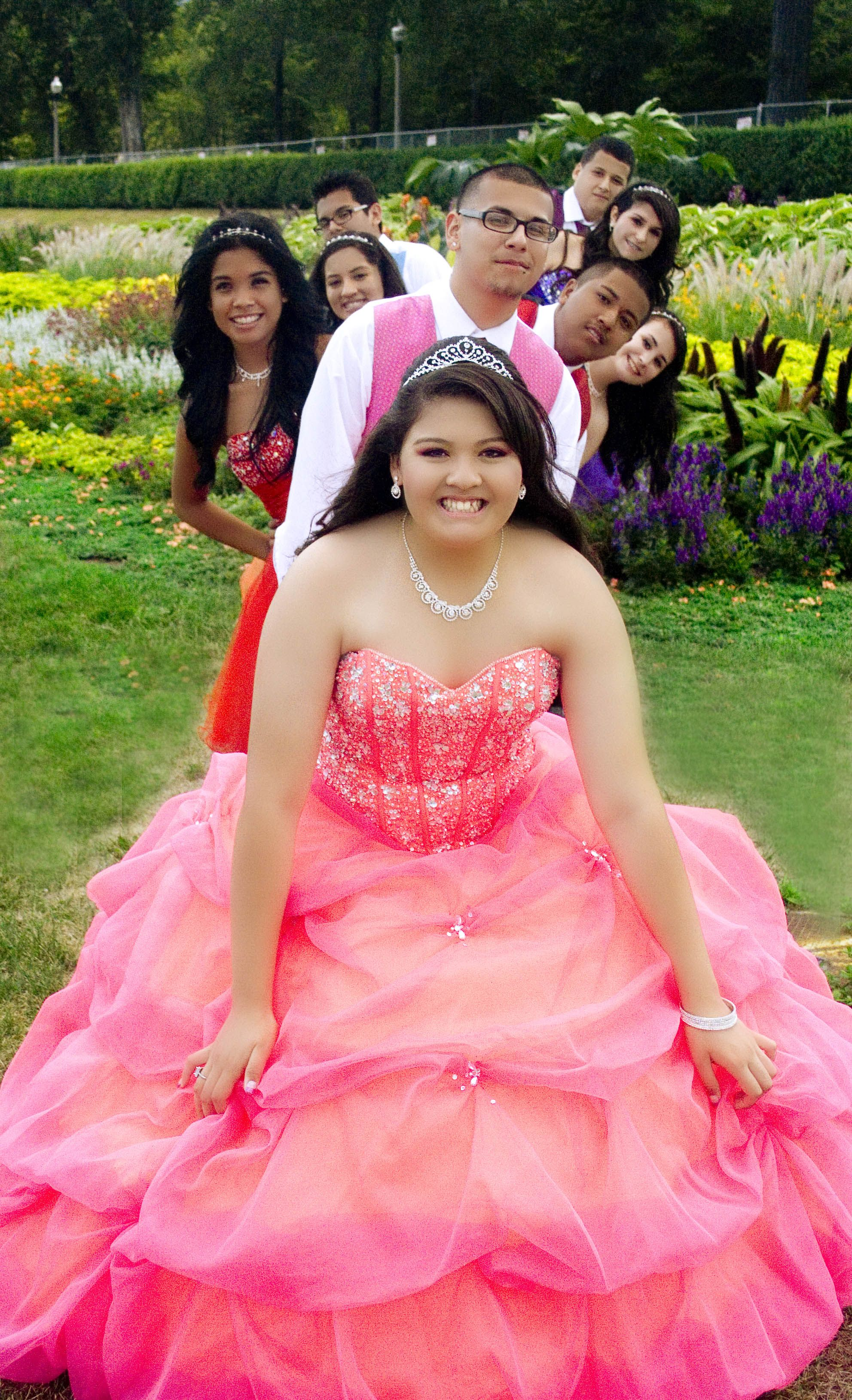 Cute 15 Y O Girl: Cute Pose! A Must Do For Her Quinceanera