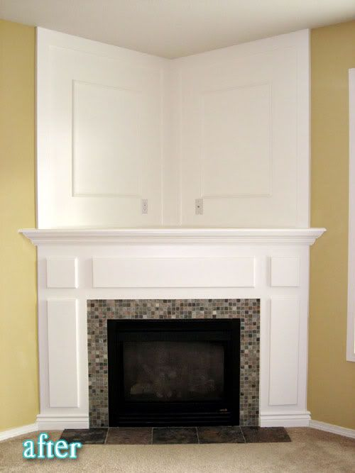 Better After Dream Mantle Another Fireplace Reno Idea
