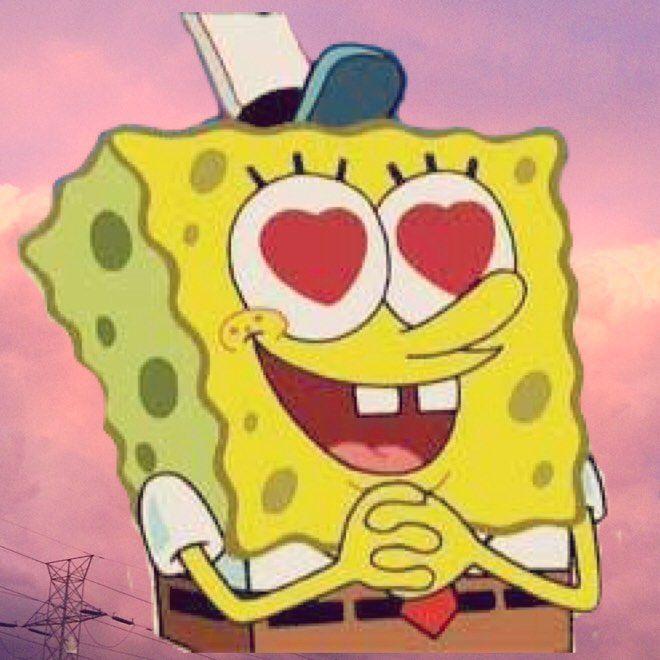 "Harold Flower's Instagram post: ""Thanks for 300 followers! 💖 #aesthetic #kawaii #aesthetictumblr #tumblr #spongebob #spongebobsquarepants #space #kawaii #cute #thanks…"""