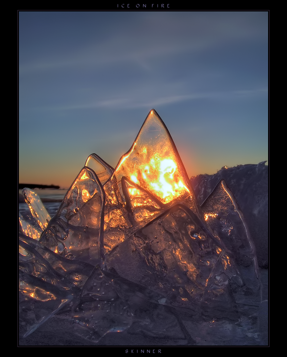 Amazing ice photography! i can just feel the cold air