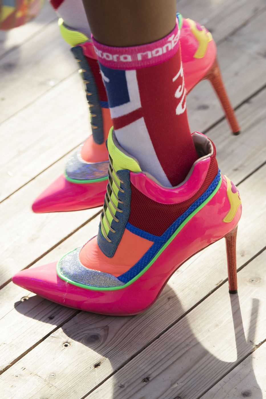 9117372e Manish Arora at Paris Fashion Week Spring 2019 in 2019   Shoes with ...