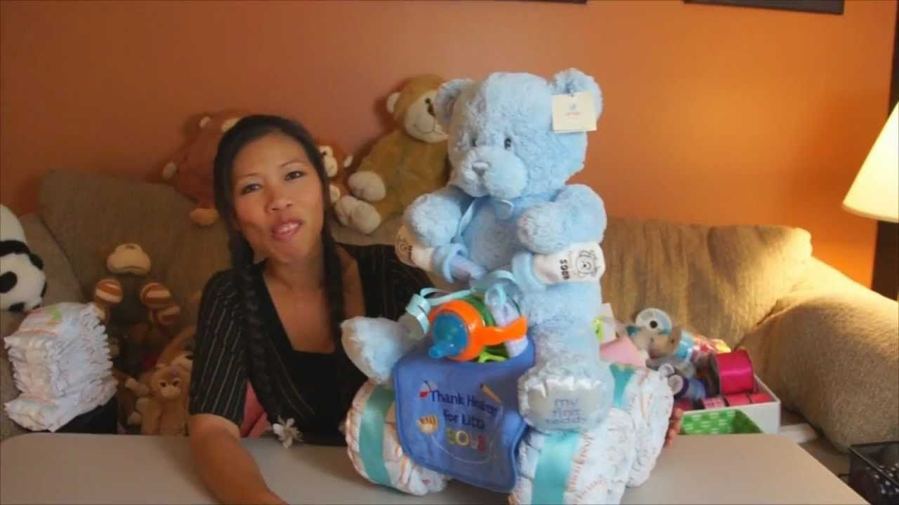 Quad Runner Diaper Cake How To Make Playlist Baby