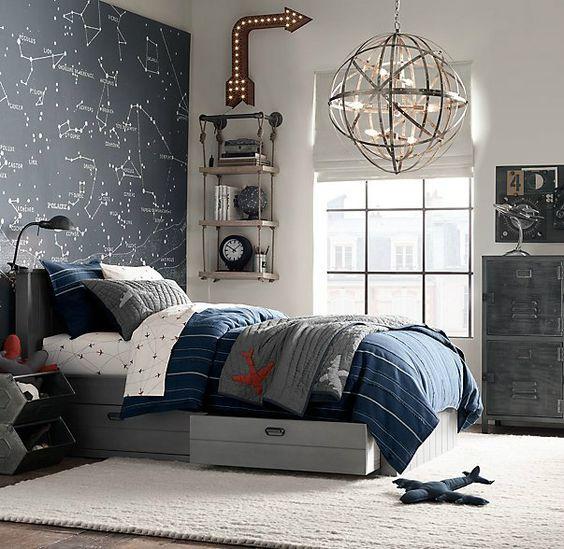 Afbeeldingsresultaat voor jongens slaapkamer blauw - Bedroom ...