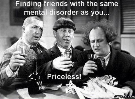 Funny Memes About Mental Illness : Finding good friends funny pinterest humour viral videos and
