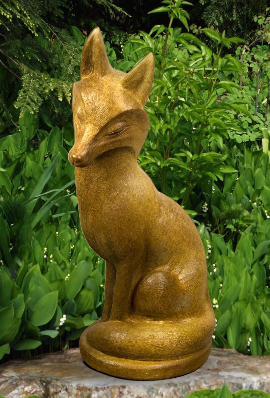 Noble Fox Henri Stuio Statuary Statue Studio 350