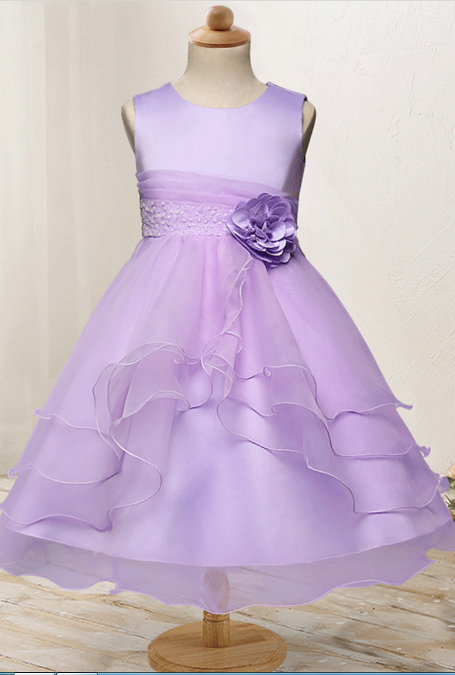 Flower Girl Dress Baby Kids Wedding Birthday Party | Gowns & Dresses ...