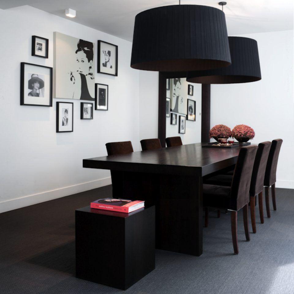 Eetkamer met luxe eettafel en design stoelen | eetkamer design ...