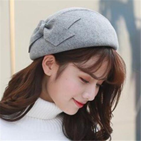 a1b653d9434 Bucket Hat · Winter · Woman · https   www.buyhathats.com double-bow-wool-