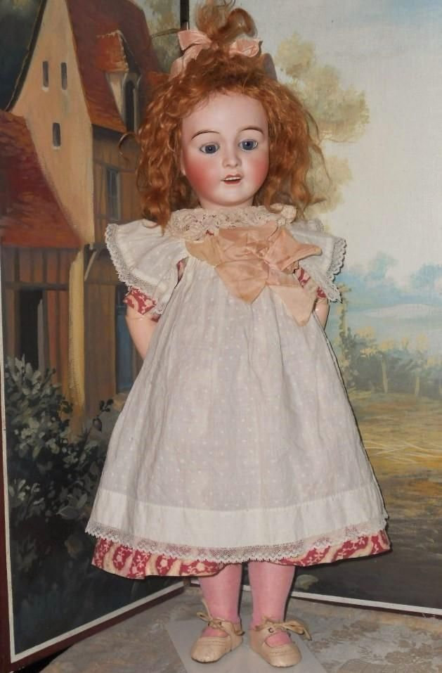 Happy Face French Bisque Bebe by Lanternier sold 845.