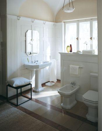 Duravit - Bad Serie 1930 - Waschtische, WCs, Bidets, Badewannen - badezimmer im landhausstil