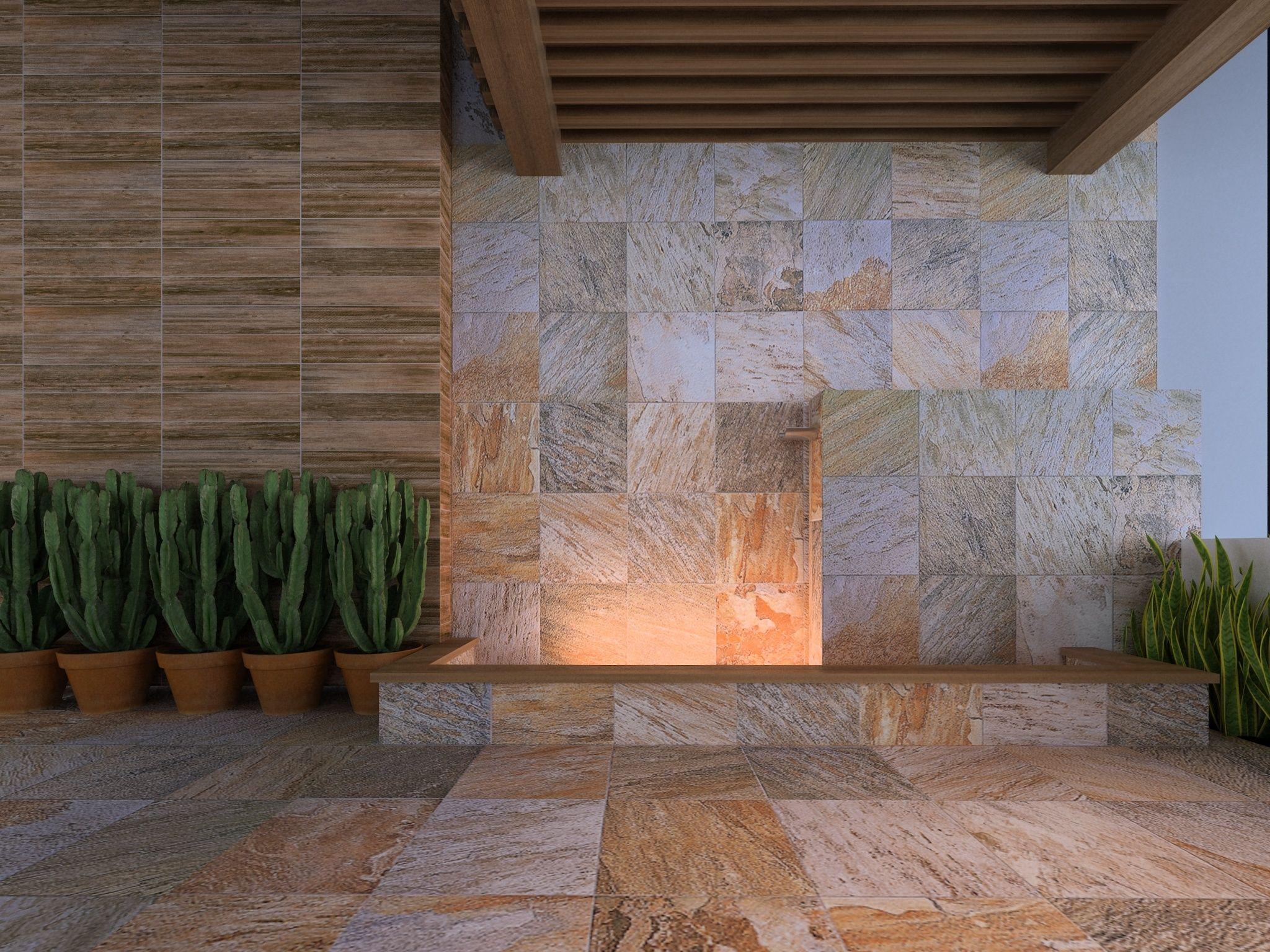 C lida bienvenida con interceramic producto l neas for Azulejos patio