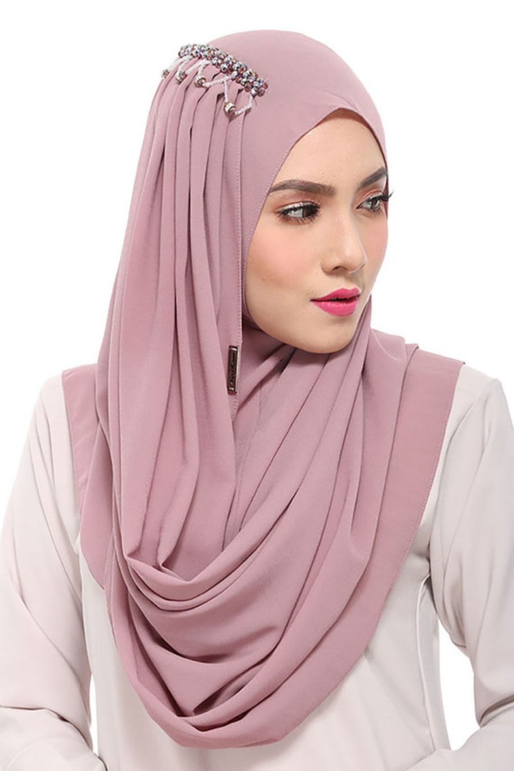42 Beautiful Hijab Fashion to Copy Right Now | Patrones de costura ...