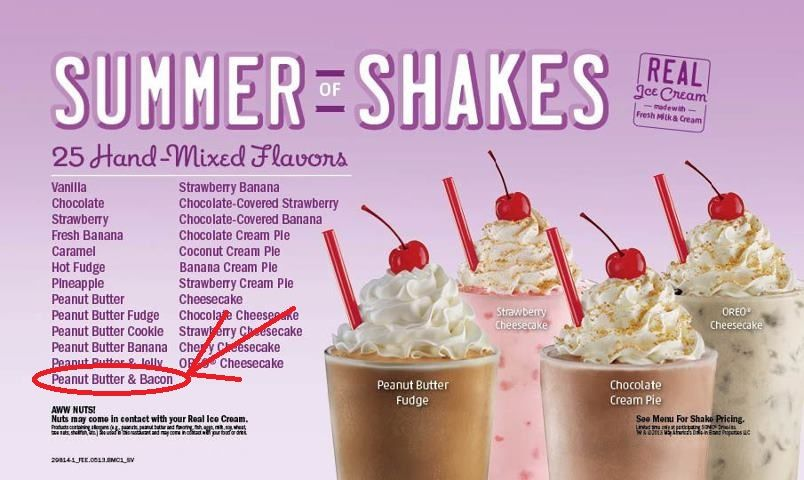 how to make a peanut butter milkshake from sonic