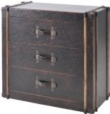 Albany Brown 3 Drawer Chest
