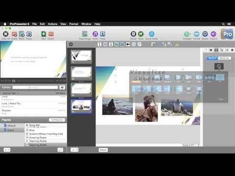 Creating Dynamic Slides in ProPresenter 6 - Church Media
