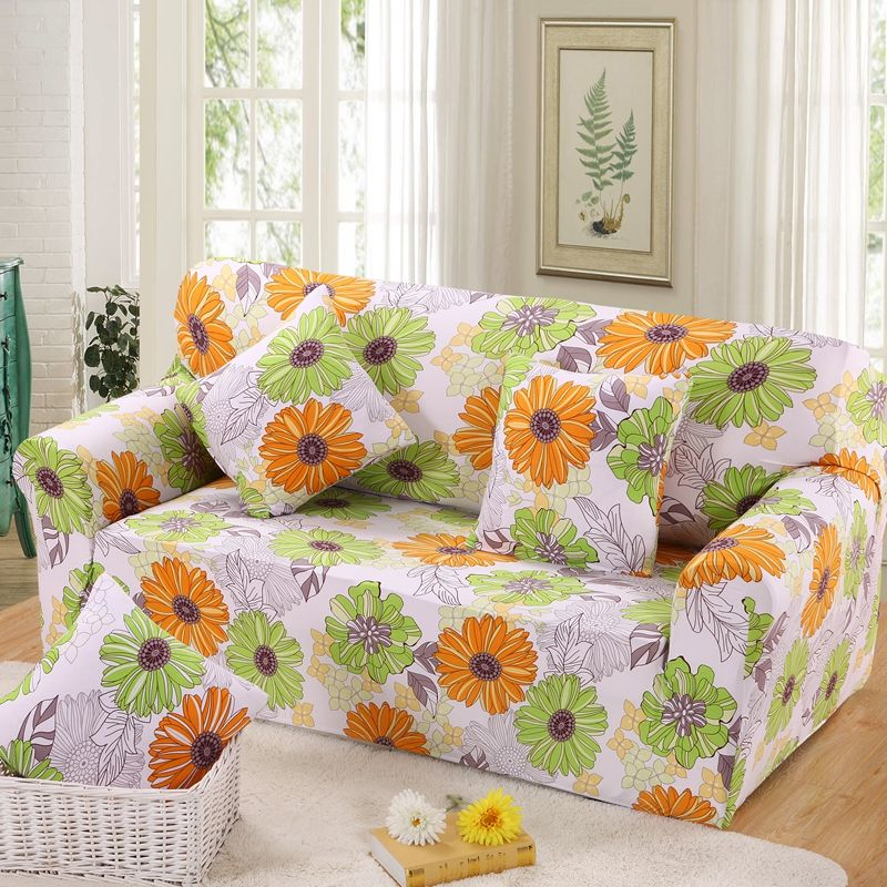 AOGUHOME STORE Single Seat Sofa Cover Universal Full Sofa Cover Slipcover  Polyester/spandex For