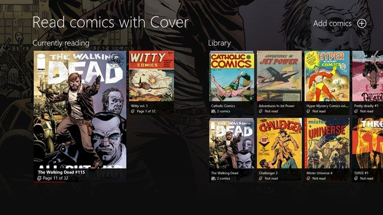 Cover // Cover, the best Windows app to read and manage